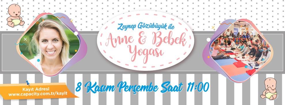 Zeynep Gözübüyük ile Anne ve Bebek Yogası