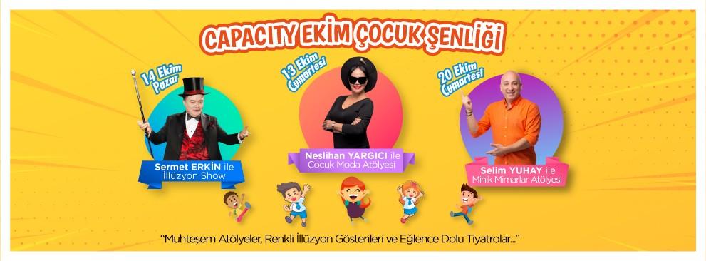 Capacity Ekim Çocuk Şenliği