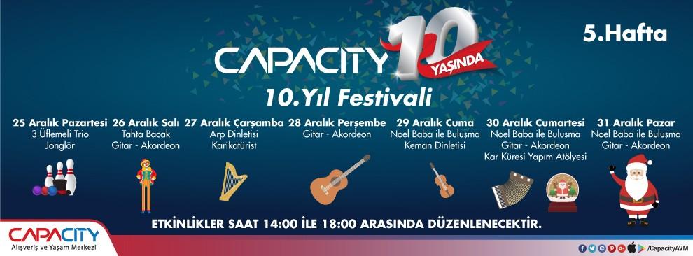 Capacity 10.Yıl Festivali