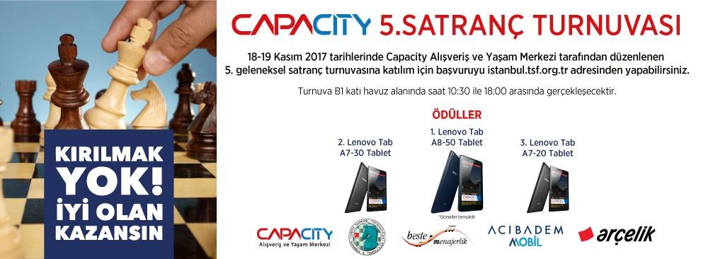Capacity 5. Satranç Turnuvası