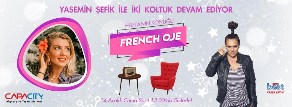 Yasemin Şefik İle İki Koltuk-French Oje