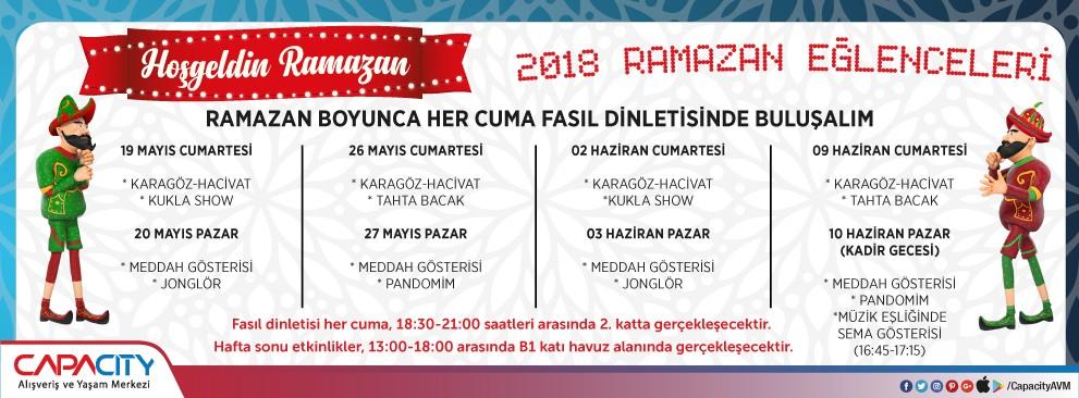 2018 Ramazan Eğlenceleri