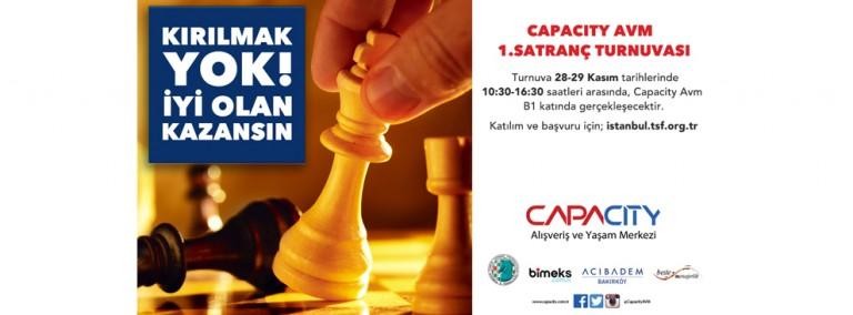 Capacity 1.Satranç Turnuvası