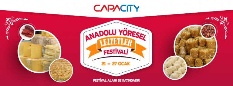 Anadolu Yöresel Lezzetler Festivali