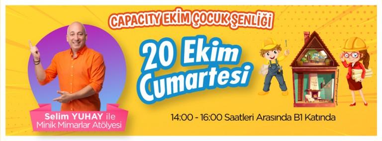 Selim Yuhay İle Minik Mimarlar Atölyesi