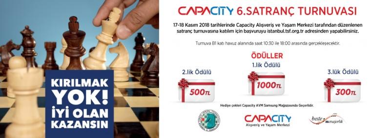 Capacity 6. Satranç Turnuvası