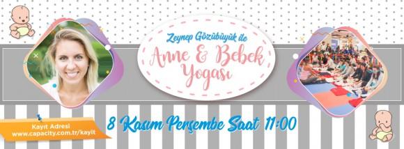 8 Kasım Anne Bebek Yogası