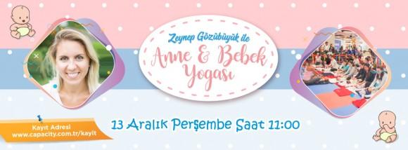 13 Aralık Anne Bebek Yogası